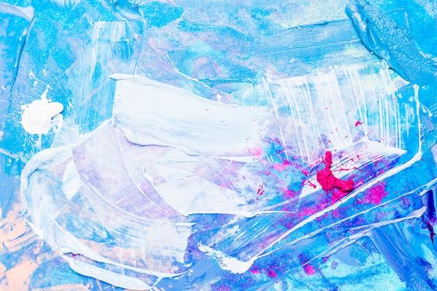 Abstrakcjonistyczna akrylowa tekstura