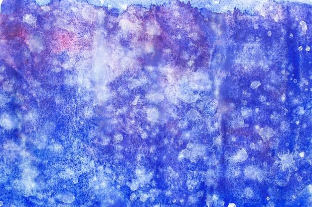 Abstrakcjonistyczna akwareli ręki farba na białym tle. tło akwarela