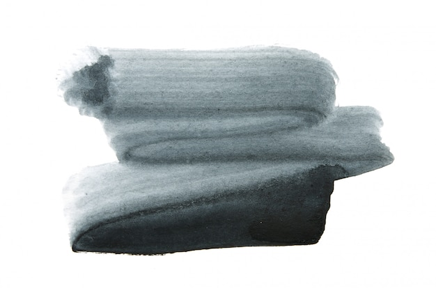 Abstrakcjonistyczna akwareli ręki farby tekstura, odizolowywająca.