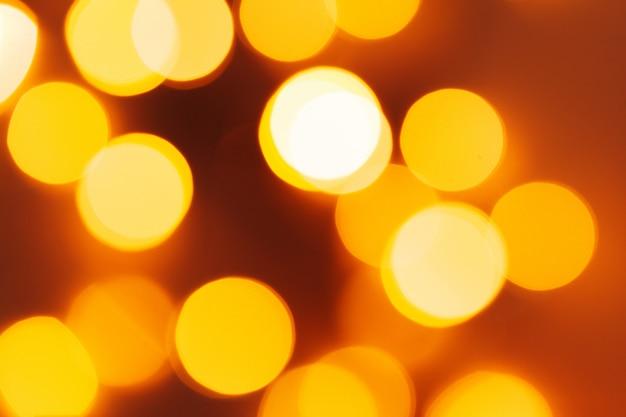 Abstrakcjonistyczna bożonarodzeniowe światła girlanda na ciemnym tle