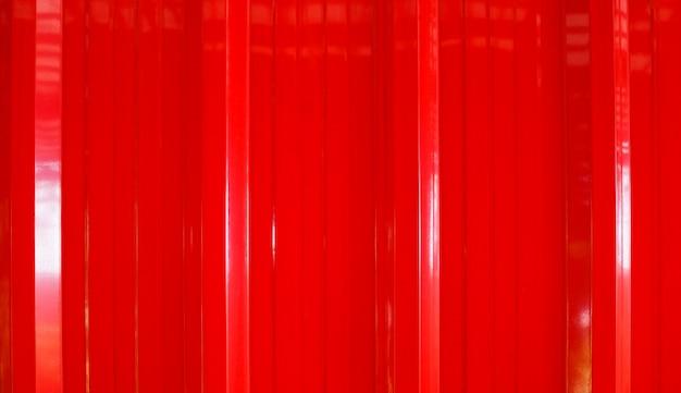 Abstrakcjonistyczna czerwona cynk ściana z metalu prześcieradłem dla tła