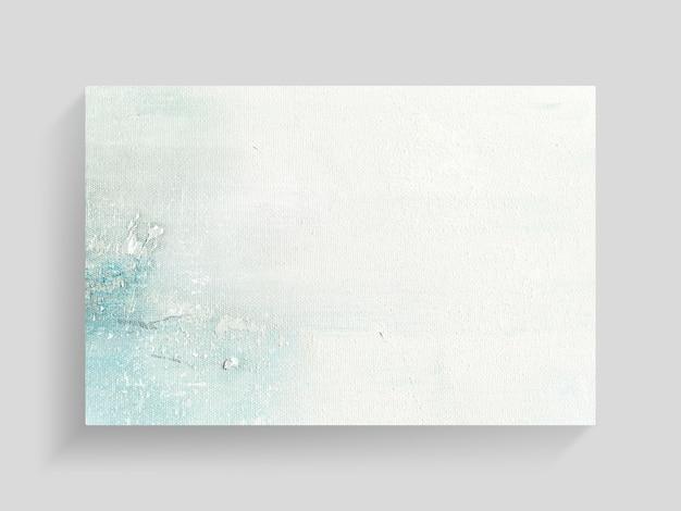 Abstrakcjonistyczna kolorowa obraz sztuka na brezentowym tekstury tle. zbliżenie.