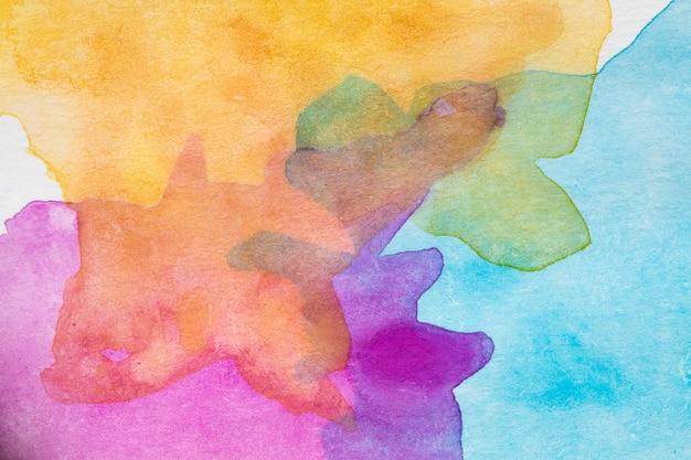 Abstrakcjonistyczna multicolor makro- tekstura z kopii przestrzenią