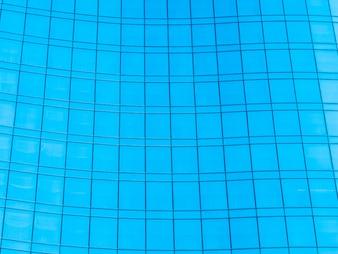 Abstrakcjonistyczna nadokienna szklana powierzchowność architektura budynek biurowy