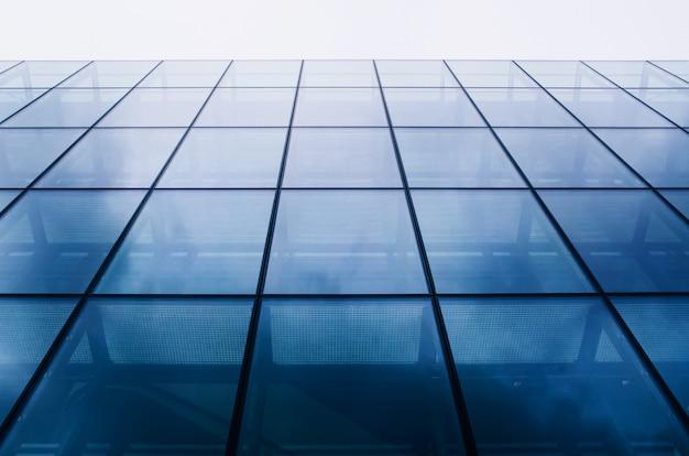 Abstrakcjonistyczna nowożytna architektura na nieba tle