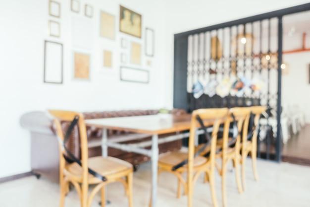 Abstrakcjonistyczna plamy restauracja