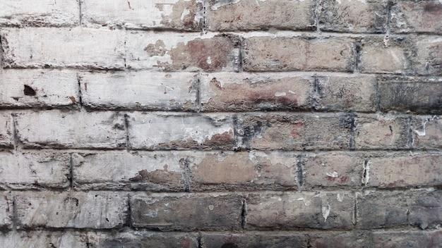 Abstrakcjonistyczna stara ściana z cegieł powierzchni tekstura