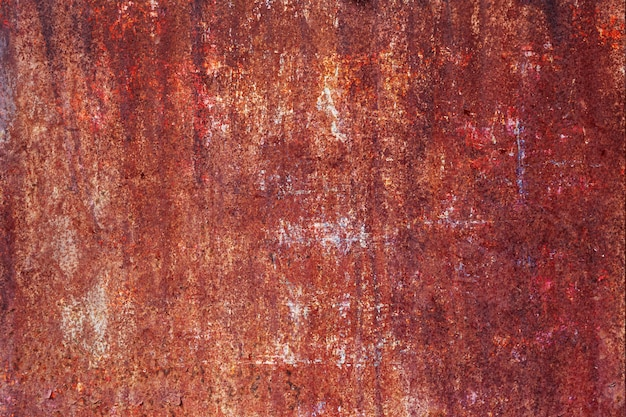 Abstrakcjonistyczna tekstura ośniedziały metalu tło.
