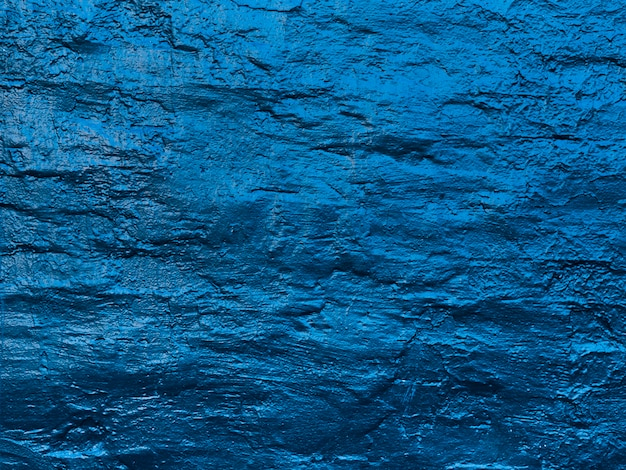 Abstrakcjonistyczne wodne fala malowali ścienną teksturę