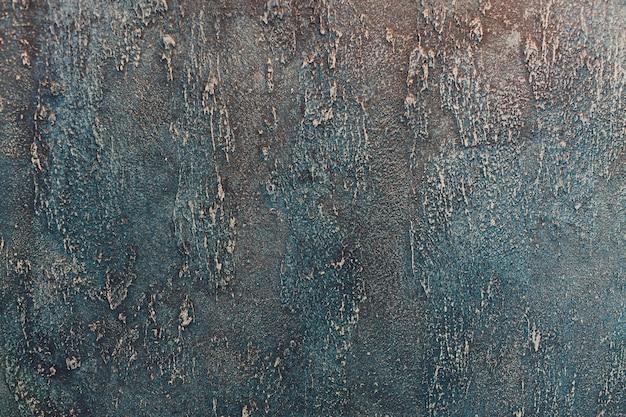 Abstrakcjonistycznego grunge ciemny granatowy tło, textured ściana.