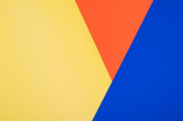 Abstrakcjonistycznego koloru papieru geometryczny tło