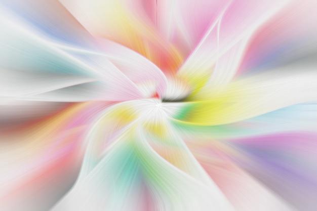 Abstrakcjonistycznego tła skręta kolorowy włosiany kształt.