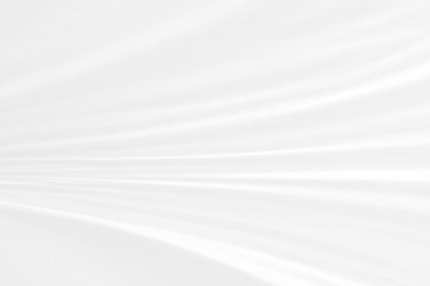 Abstrakcjonistycznej miękkiej ostrości fala tkaniny biały use dla tła lub tapety.