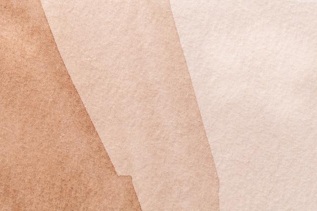 Abstrakcjonistycznej sztuki tła brąz i brąz