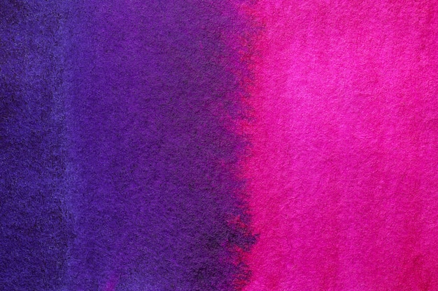 Abstrakcjonistycznej sztuki tła ciemni purpurowi i granatowi kolory. akwarela na płótnie.