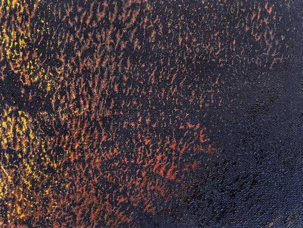 Abstrakcjonistycznej sztuki tła czerń i pomarańcze kolory.