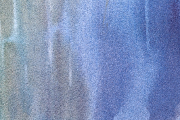 Abstrakcjonistycznej sztuki tła granatowi i popielaci kolory. akwarela na płótnie.