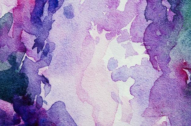 Abstrakcjonistyczny akwareli ręki farby tekstury tło