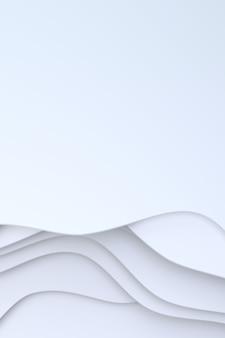 Abstrakcjonistyczny białego papieru sztuki tło