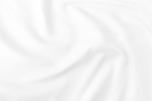 Abstrakcjonistyczny biały tkaniny tekstury tło. falista tkanina