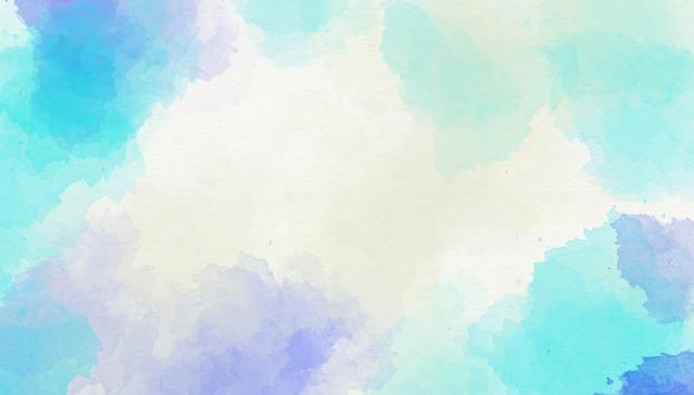 Abstrakcjonistyczny błękitny akwareli tło