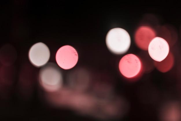 Abstrakcjonistyczny bokeh miasta światła tło