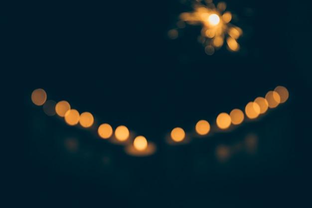 Abstrakcjonistyczny bokeh tło przy nocą