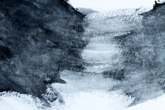 Abstrakcjonistyczny czarny i biały akwareli światło malował tło lub teksturę. CLOSUP.