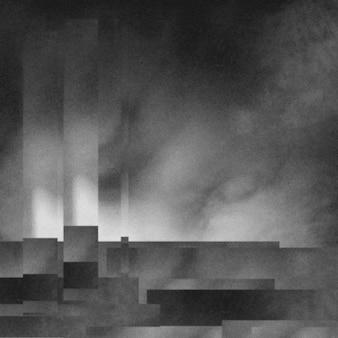 Abstrakcjonistyczny grunge kserowania tekstury tło, ilustracja.