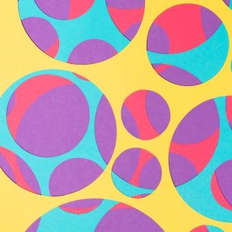 Abstrakcjonistyczny kolorowy jaskrawy wzór dla tła