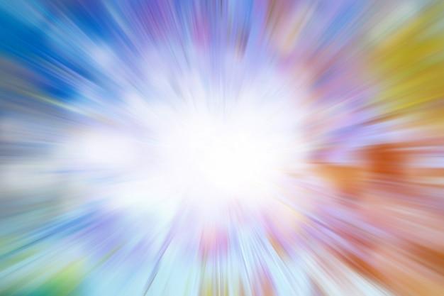Abstrakcjonistyczny kolorowy tło - tęcza, wybuch