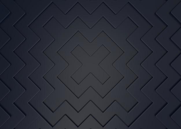 Abstrakcjonistyczny nowożytny ciemnego x kształta wzoru ściany tło.