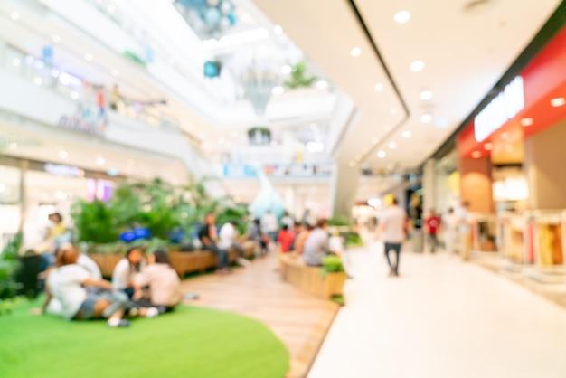 Abstrakcjonistyczny plama zakupy centrum handlowego lub wydziałowego sklepu wnętrze dla tła