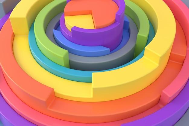 Abstrakcjonistyczny tło geometryczny kształt