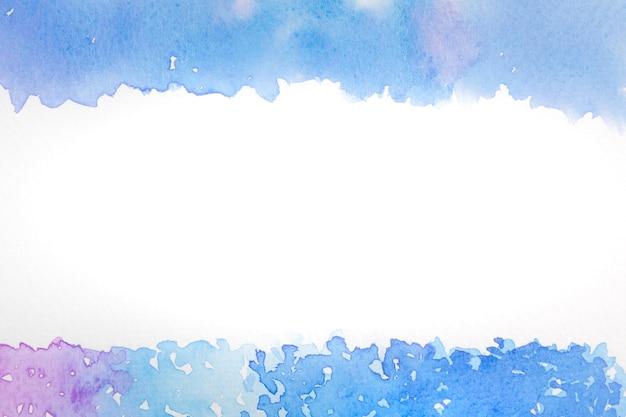 Abstrakcjonistyczny tło wizerunek morze z akwarelą