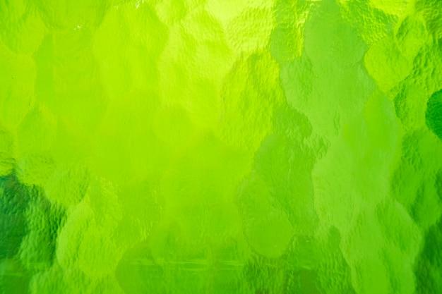 Abstrakcjonistyczny zielonego szkła tekstury tło.