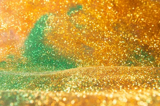 Abstrakcjonistyczny złocisty tło