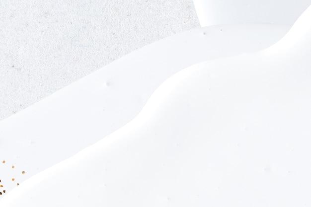 Abstrakcyjna biel ze złotym brokatem w tle