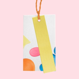 Abstrakcyjna etykieta odzieżowa dla biznesu modowego