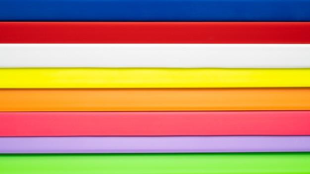 Abstrakcyjna linia z tworzywa sztucznego w pełnym kolorze tekstury tła