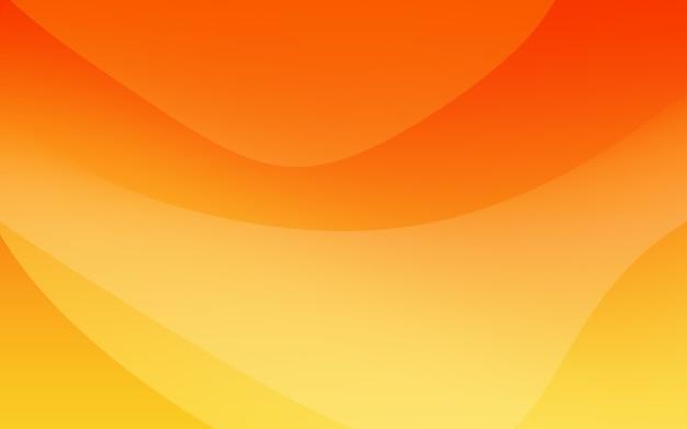 Abstrakcyjna pomarańczowa krzywa ilustracja tła