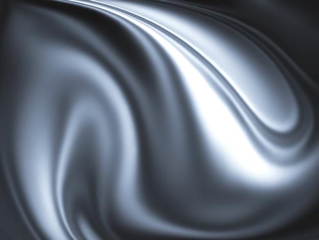 Abstrakcyjne chromowane tło - wygenerowane komputerowo dla twoich projektów