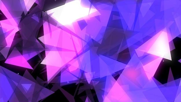 Abstrakcyjne geometryczne neonowe tło futurystyczny kolor tła