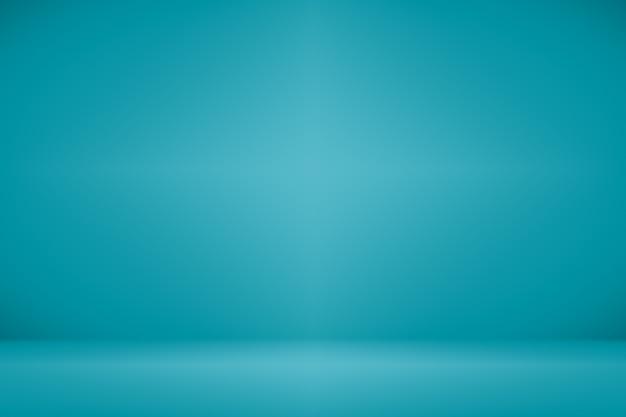 Abstrakcyjne gładkie ciemnoniebieski z czarnym winieta studio dobrze wykorzystać jako tło, raport biznesowy, cyfrowy, szablon strony internetowej.