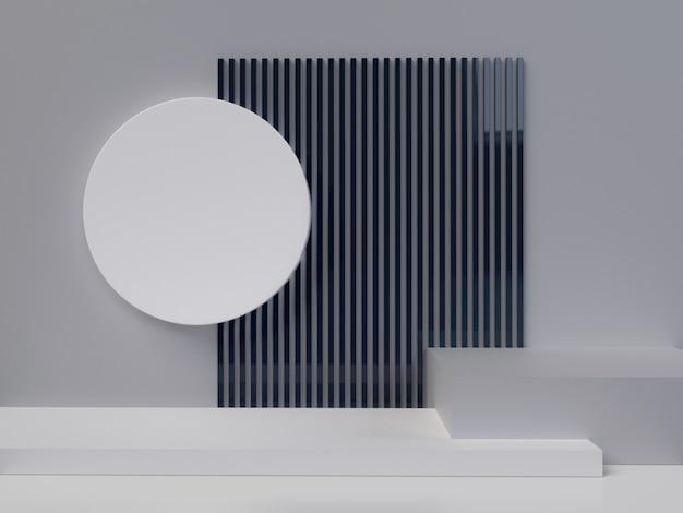 Abstrakcyjne kształty geometryczne