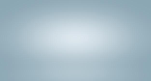 Abstrakcyjne luksusowe rozmycie szarego koloru gradientu używanego jako tło ściany studyjnej do wyświetlania produktów