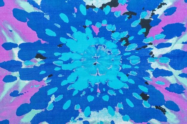 Abstrakcyjne niebieskie i różowe tło tkaniny