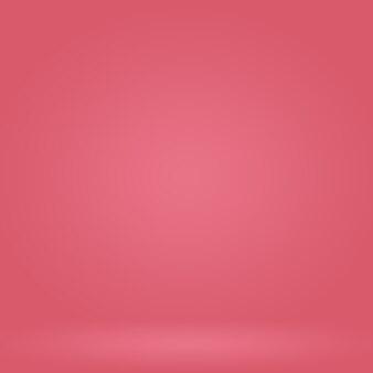 Abstrakcyjne puste gładkie jasnoróżowe tło pokoju studyjnego użyj jako montażu dla produktu displaybannertemp...