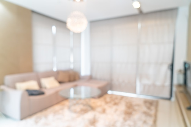 Abstrakcyjne rozmycie i nieostre salon na tle