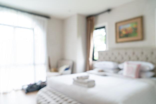 Abstrakcyjne rozmycie i nieostre sypialnia na tle